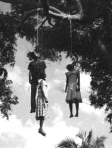 black women hanging