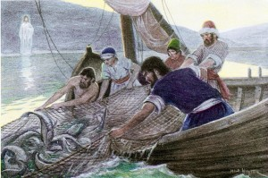 pulling in the nets