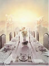 banquet table in heaven