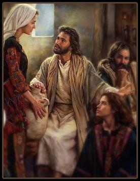 Martha, Mary & Jesus
